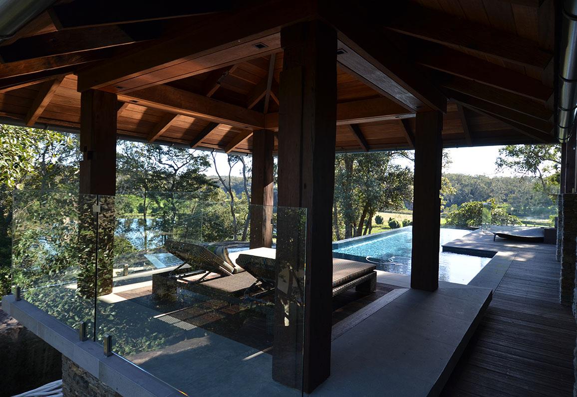 Sweven Pool Pavilion
