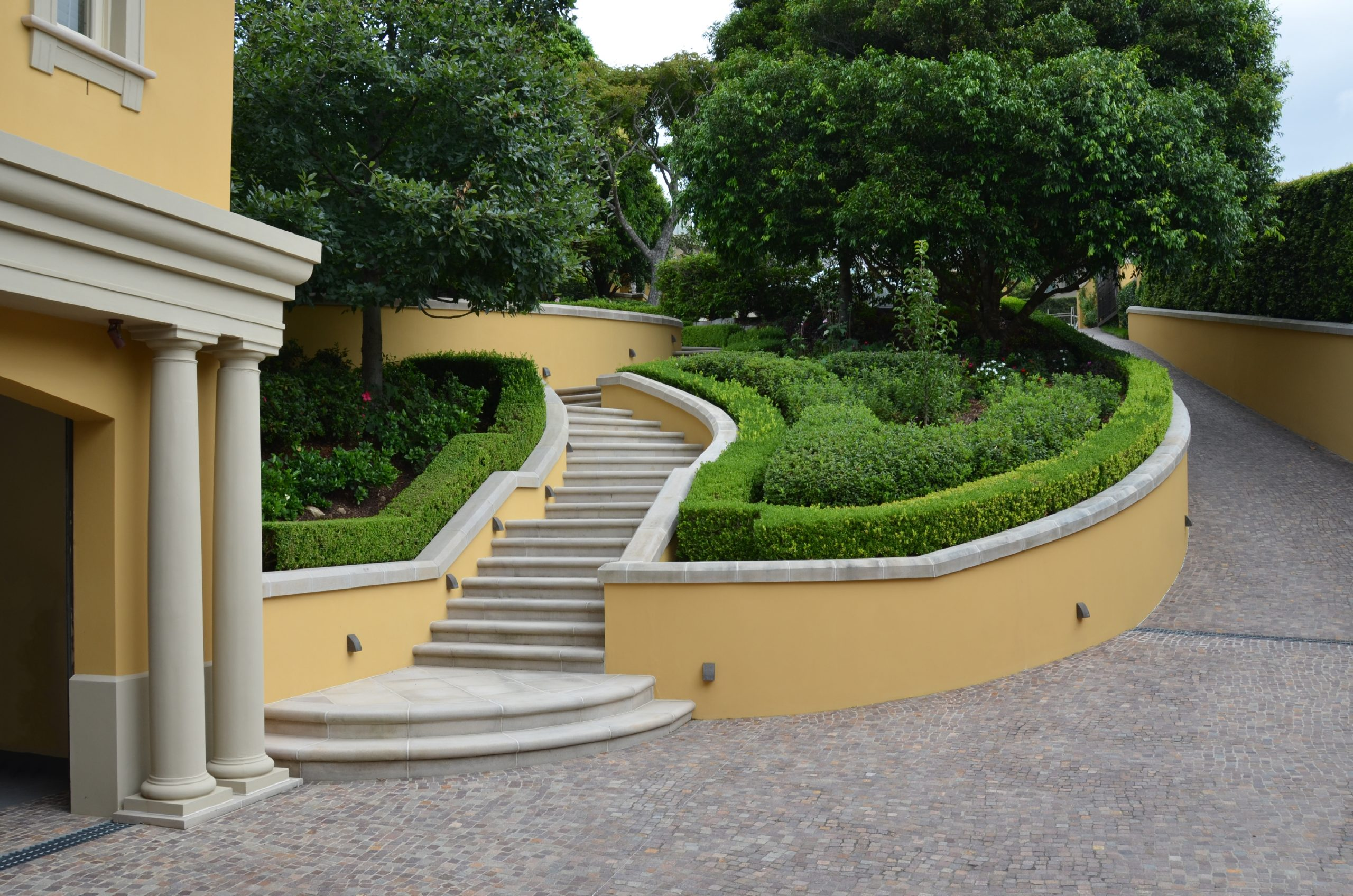 Garden Entry Stair